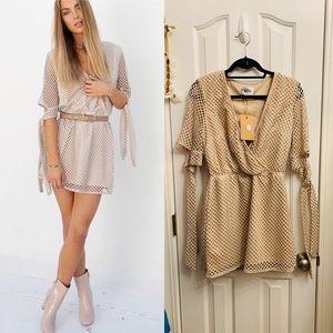 Sabo Skirt Olivia Mesh Dress NWT